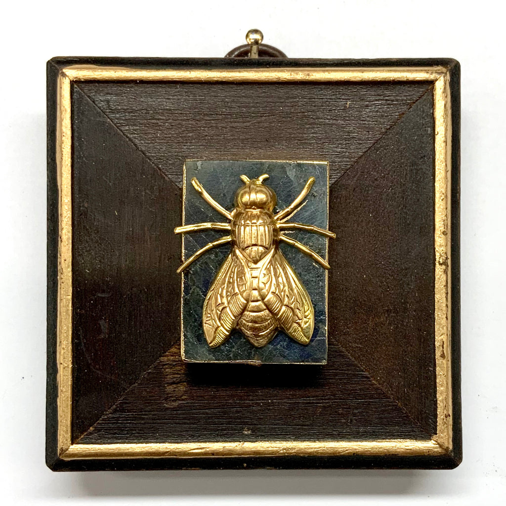 Wooden Frame with Fly on Stone (3