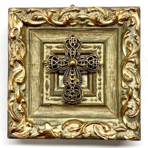 Painted Frame with Cross (4