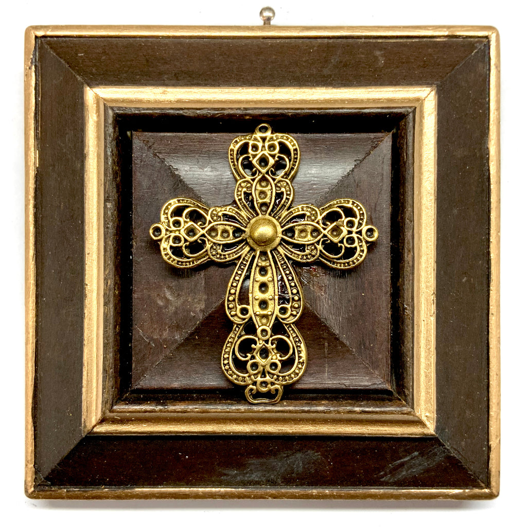 Wooden Frame with Cross (4