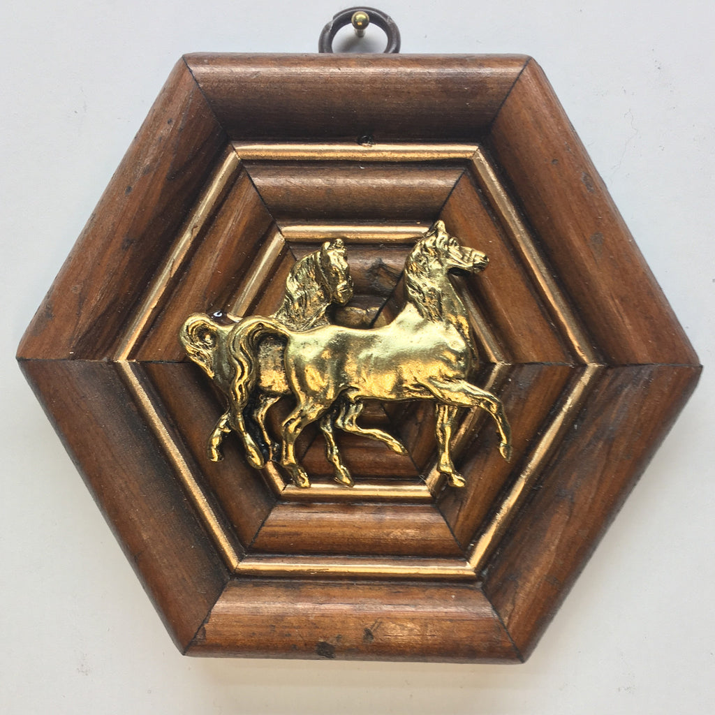 Wooden Frame with Horse (4.5