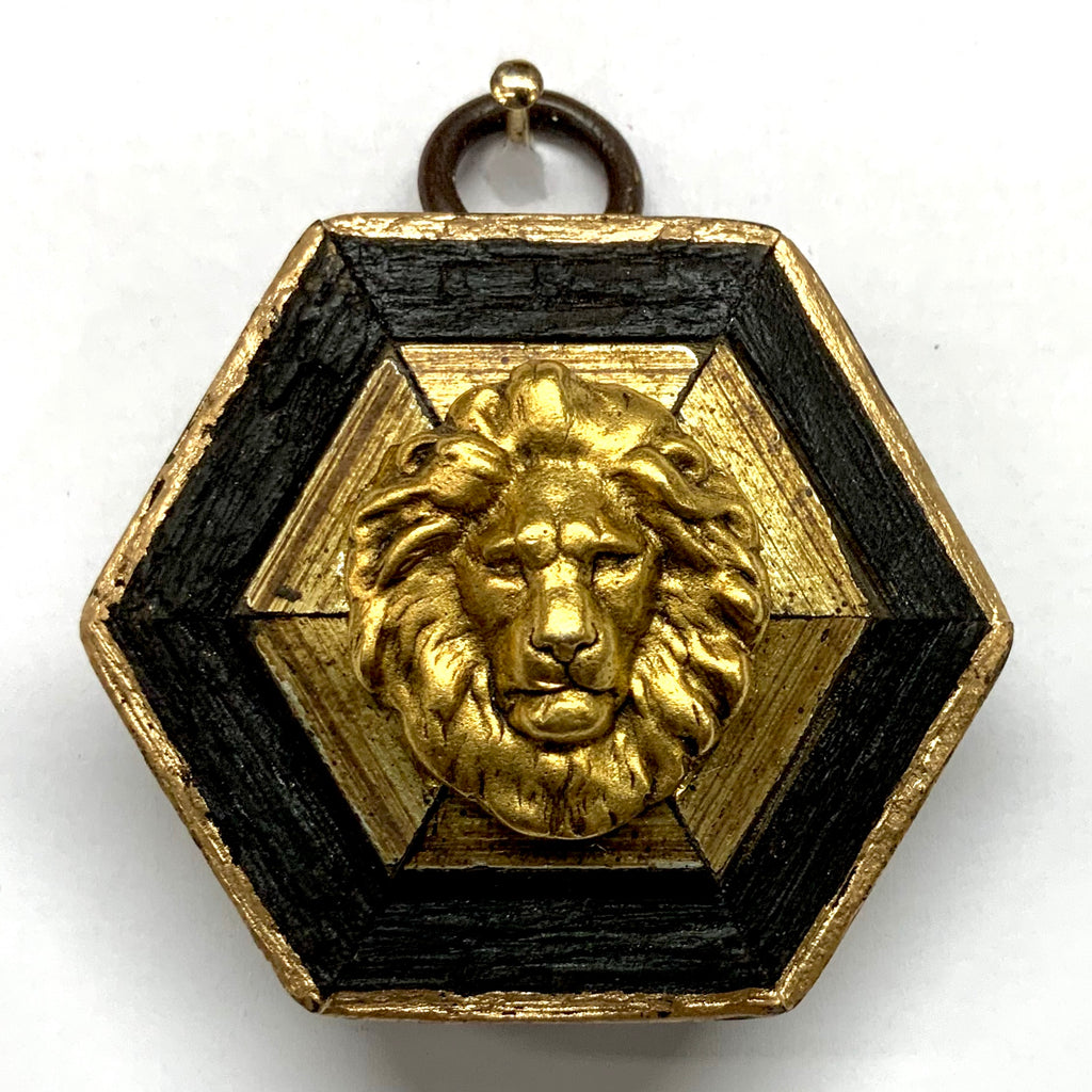 Bourbon Barrel Frame with Lion (2.25