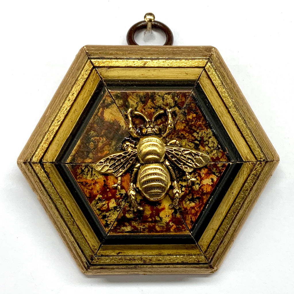 Gilt Frame with Grande Bee (3.25