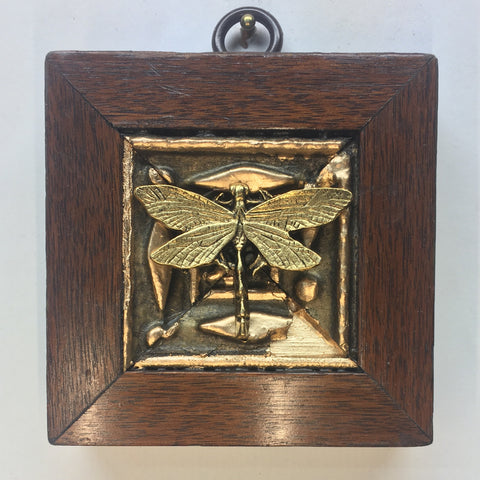 Gilt Wooden Frame with Dragonfly (3