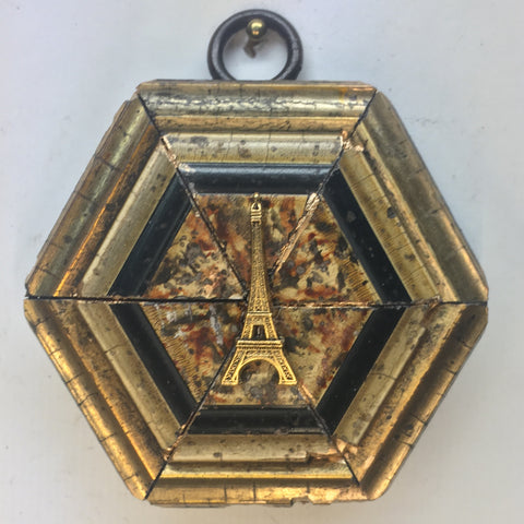 Gilt Painted Frame with Eiffel Tower (2.5