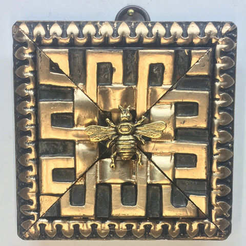 Dark Gilt Frame with Italian Bee (3.5