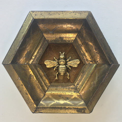 Gilt Frame with Italian Bee (4