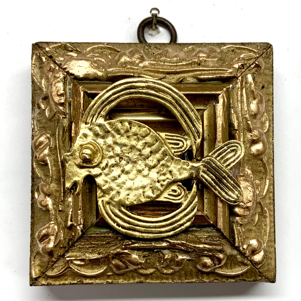 Gilt Frame with Fish (3.25
