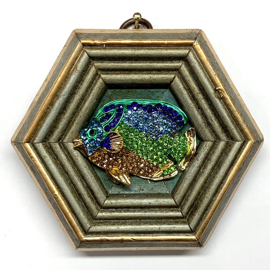Painted Frame with Fish (4