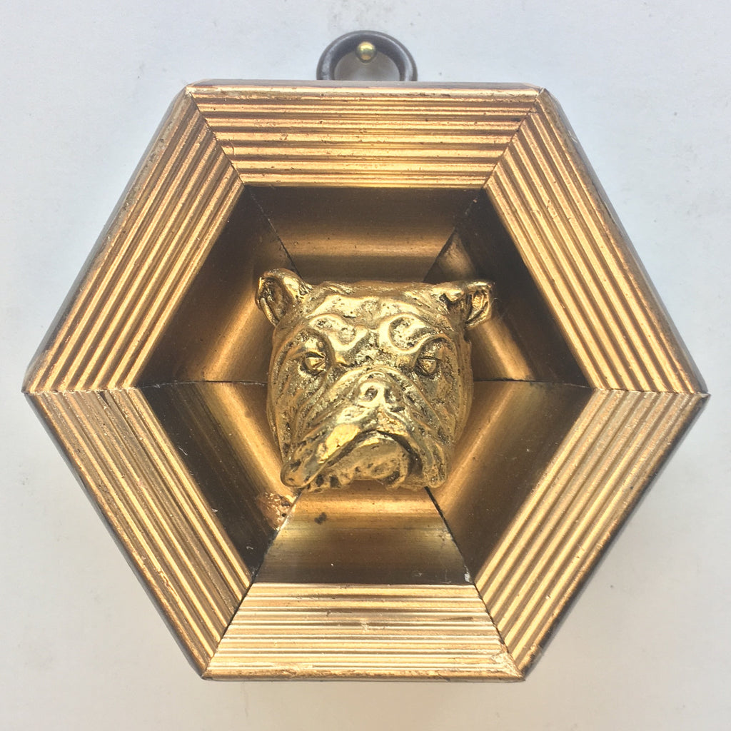 Gilt Frame with Bulldog (3.5