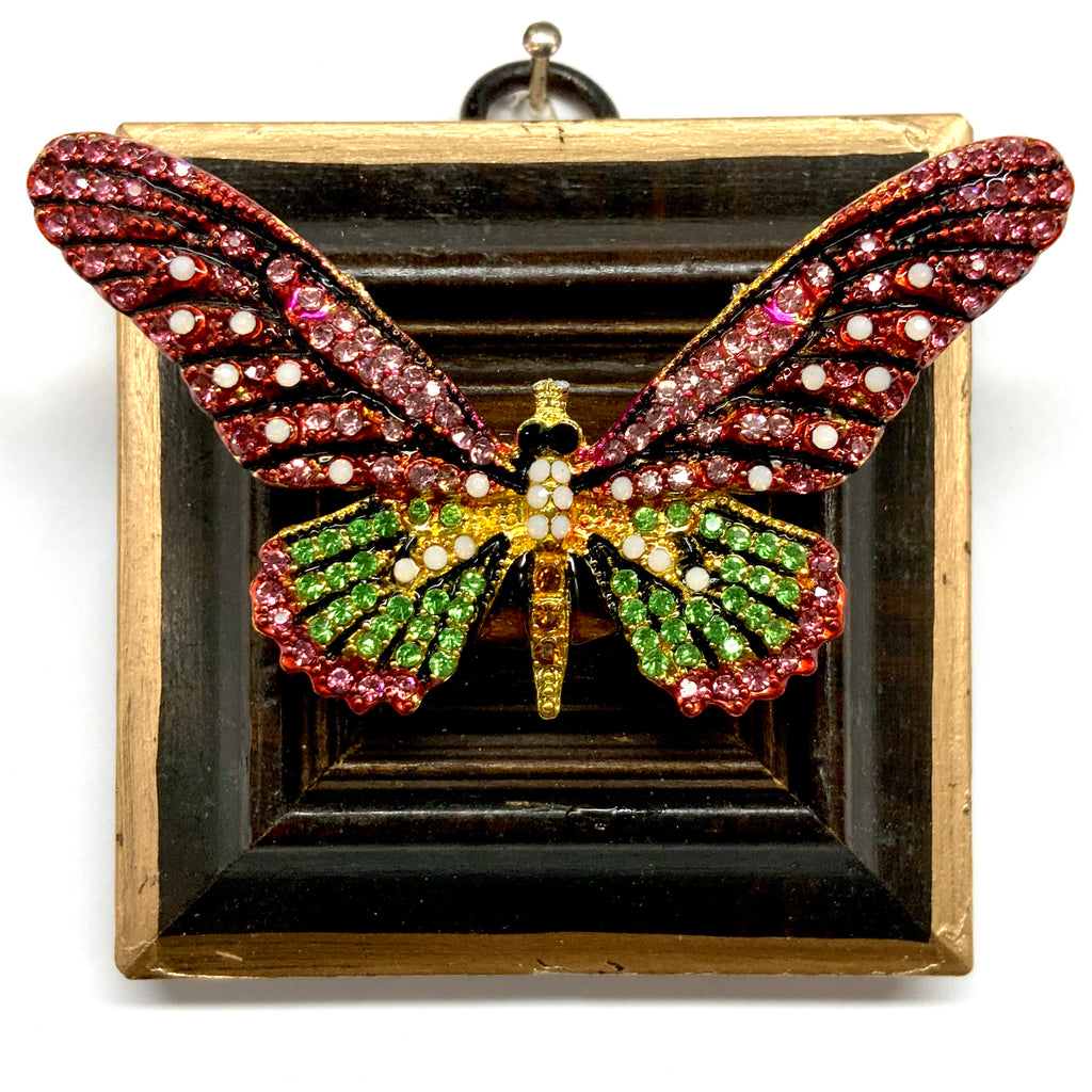 Wooden Frame with Sparkle Butterfly (3