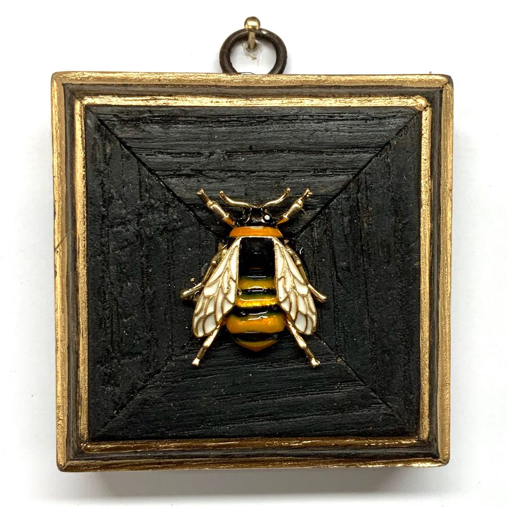 Bourbon Barrel Frame with Enameled Bee (3