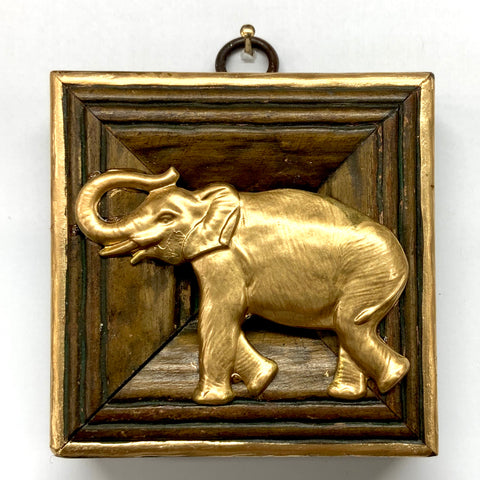 Wooden Frame with Elephant (3.25