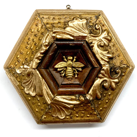 Gilt Frame with Napoleonic Bee (4