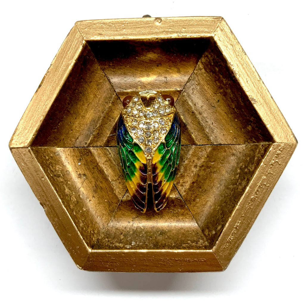 Gilt Frame with Cicada (3