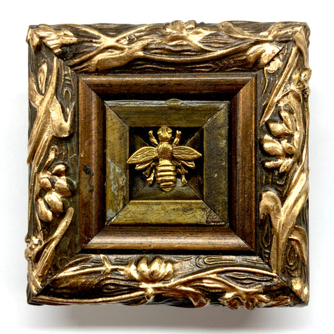 Painted Frame with Napoleonic Bee (3.25