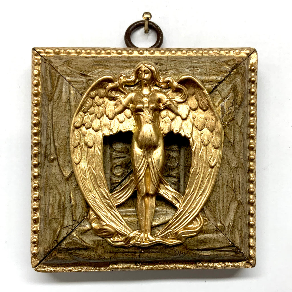 Wooden Frame with Angel (3.25