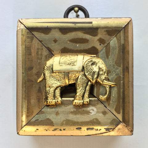 Gilt Frame with Elephant (2.25