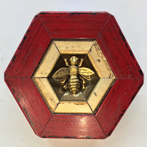 Gilt Lacquered Frame with Napoleonic Bee (3