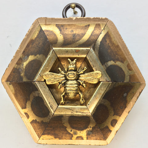 Gilt Frame with Italian Bee (3.5
