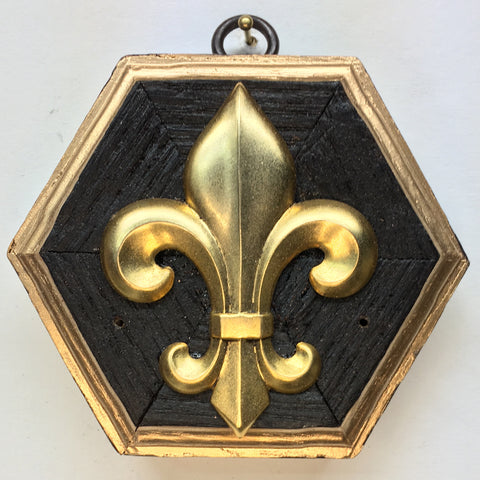 Bourbon Barrel Frame with Fleur De Lis (3.75