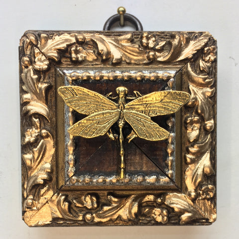 Gilt Frame with Dragonfly (2.75