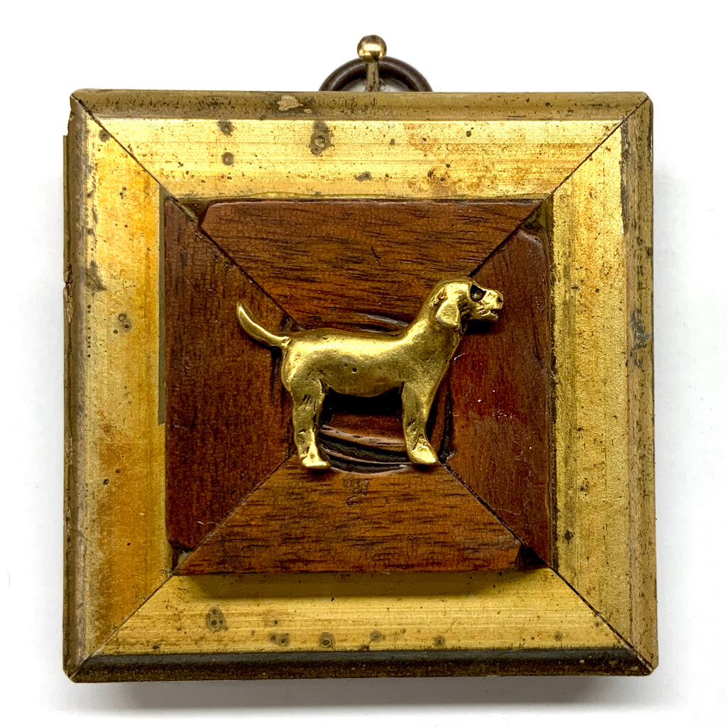 Gilt Frame with Hound (2.5