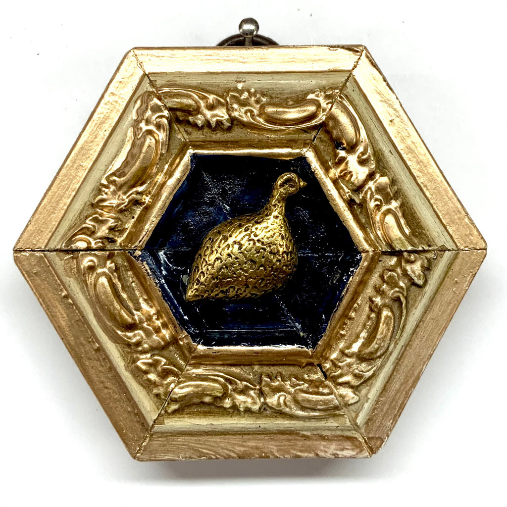 Painted Frame with Quail (3