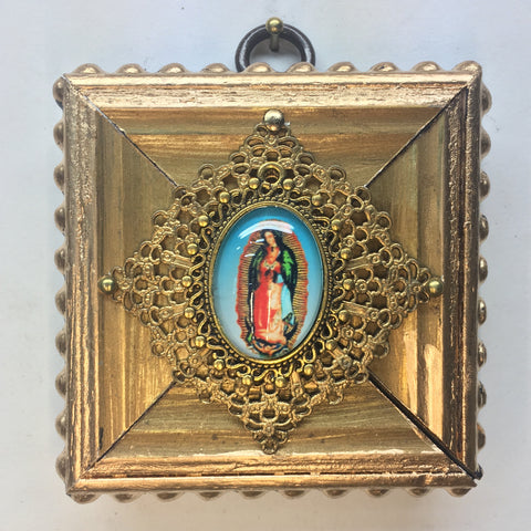 Gilt Frame with Broach of Mary (3
