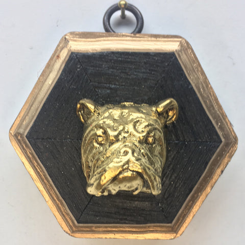 Bourbon Barrel Frame with Bulldog (3