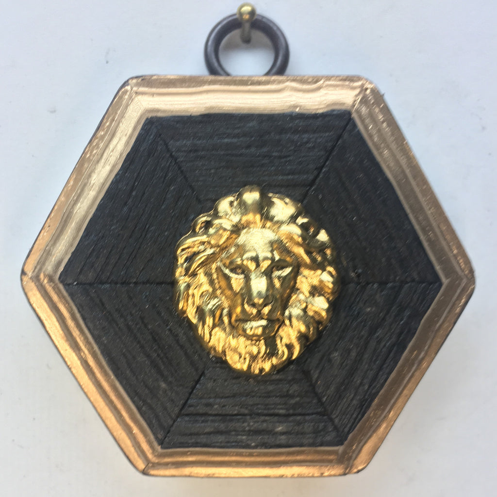 Bourbon Barrel Frame with Lion (2.75