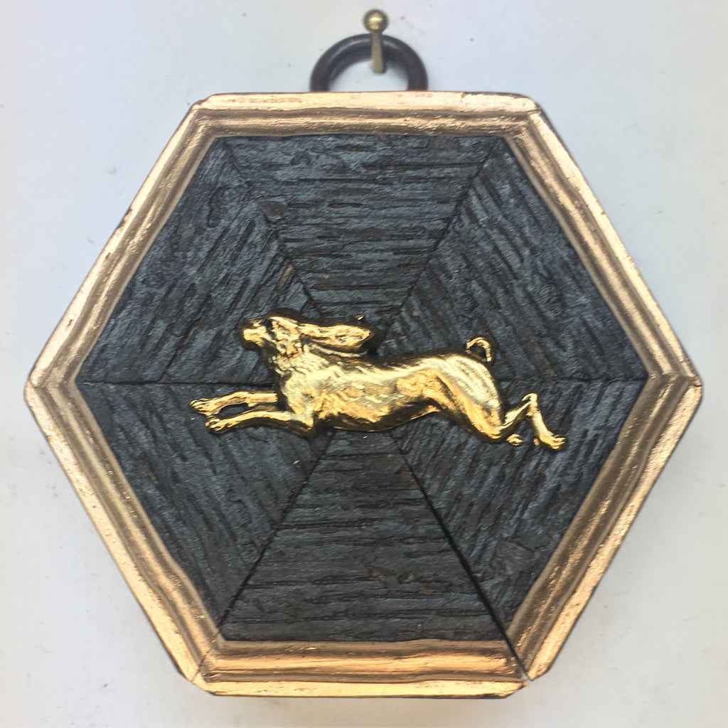 Bourbon Barrel Frame with Hare (3