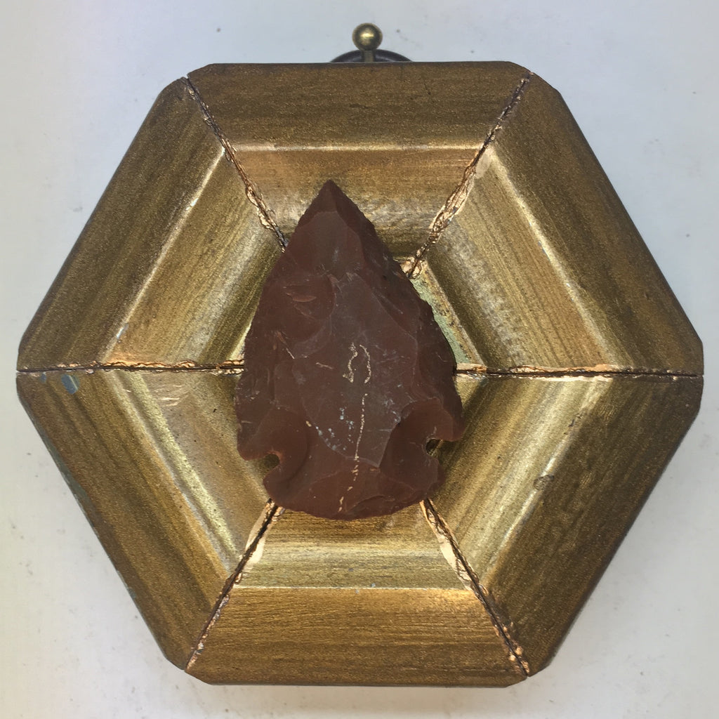 Gilt Frame with Arrowhead (2.75