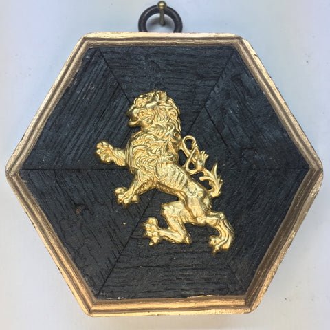 Bourbon Barrel Frame with Lion (3.75