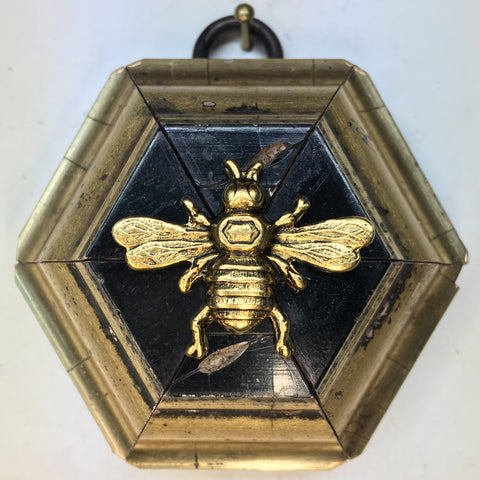Gilt Lacquered Frame with Italian Bee (2.75