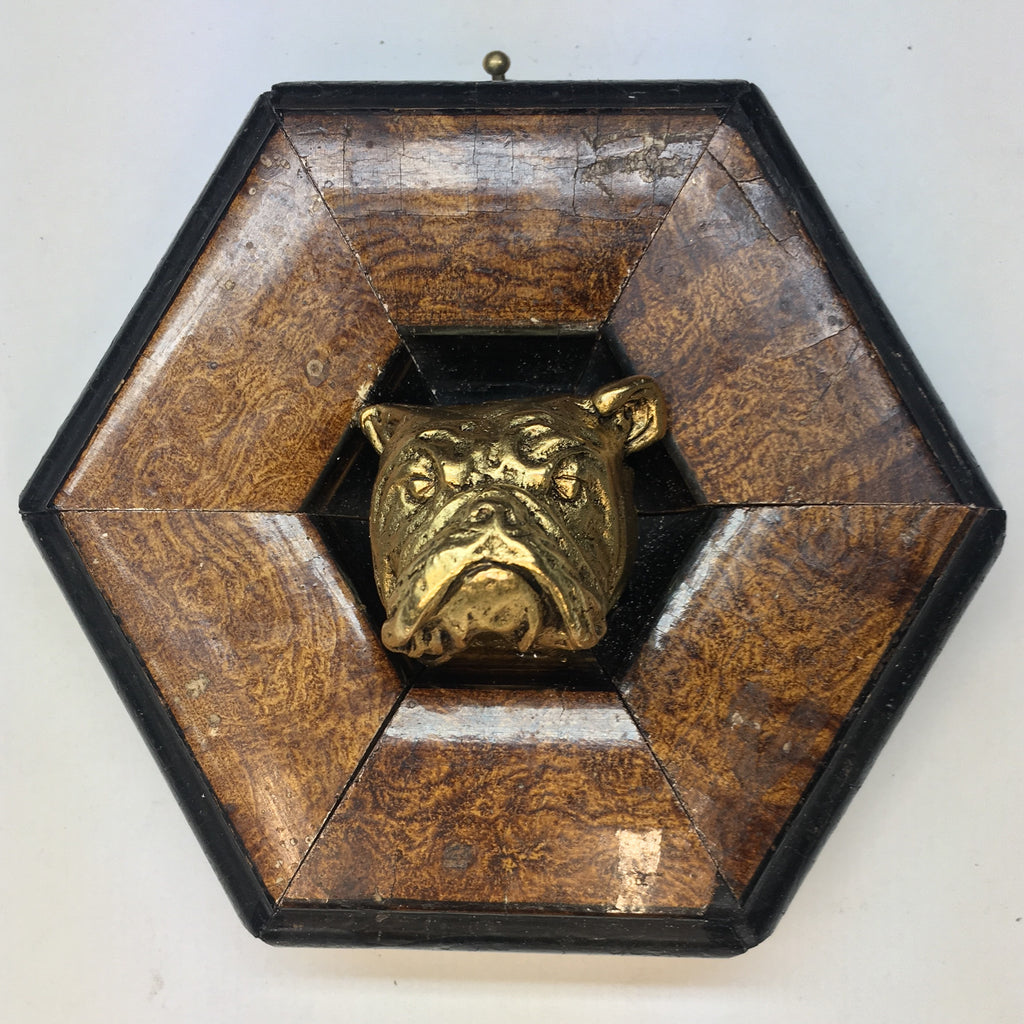 Painted Frame with Bulldog (4