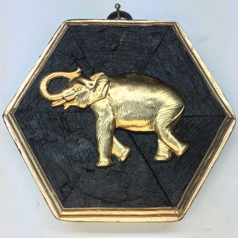 Bourbon Barrel Frame with Elephant (5
