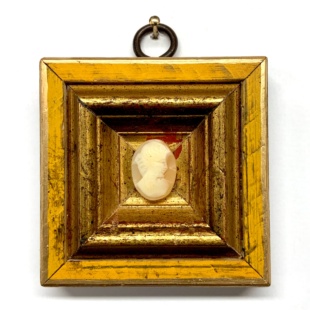 Painted Frame with Cameo (2.75