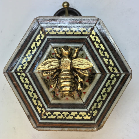 Micro Mosaic Frame with Napoleonic Bee (2