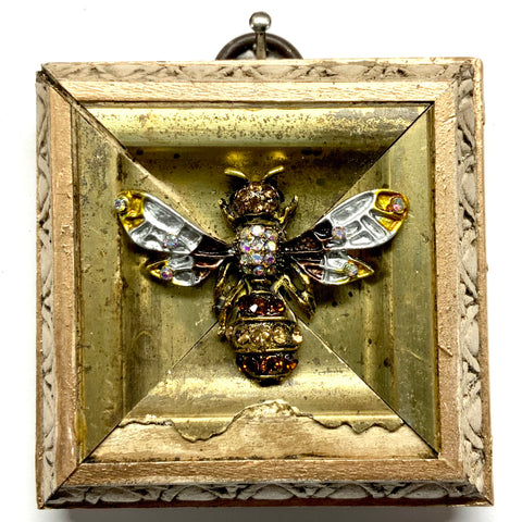 Gilt Frame with Enameled Bee (2.5