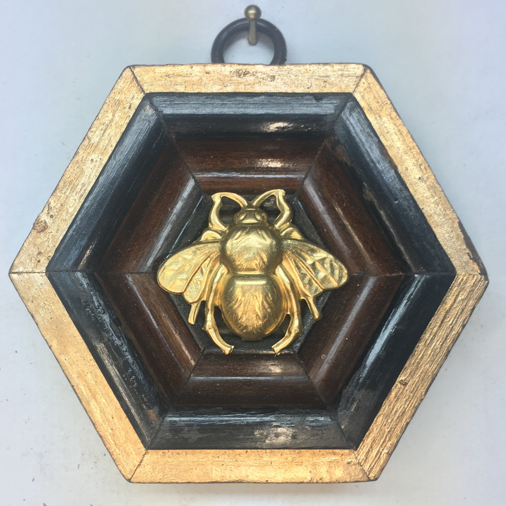 Wooden Frame with Bee (3.25
