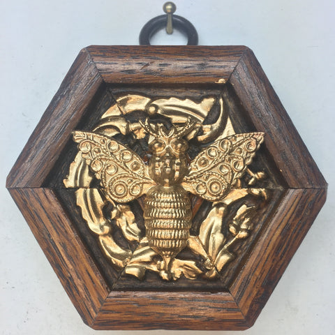 Gilt Wooden Frame with Bee (2.75