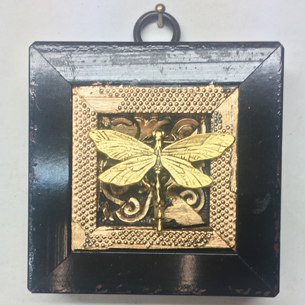 Gilt Lacquered Frame with Dragonfly (2.75