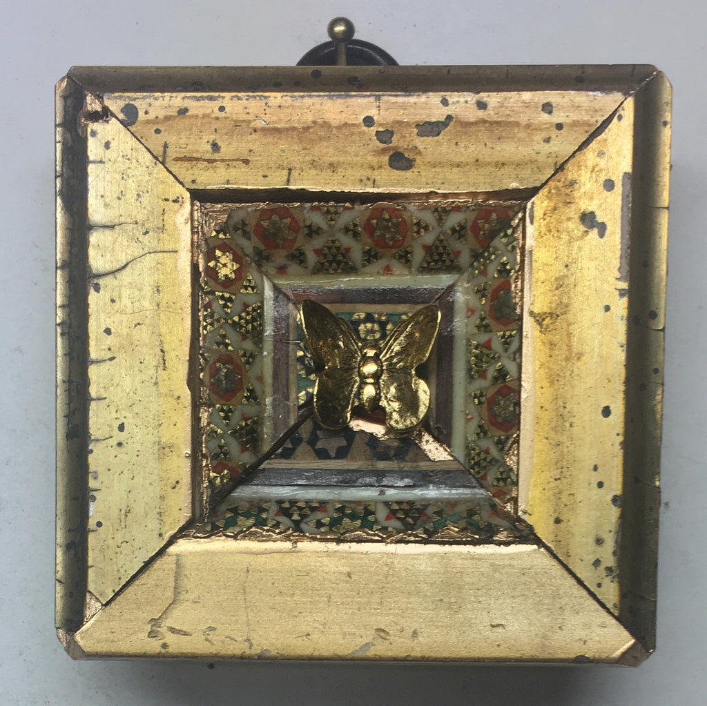 Gilt Frame with Butterfly (2.5
