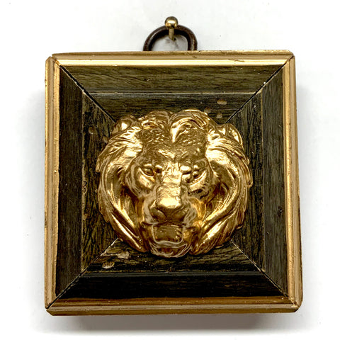 Painted Frame with Lion (2.25