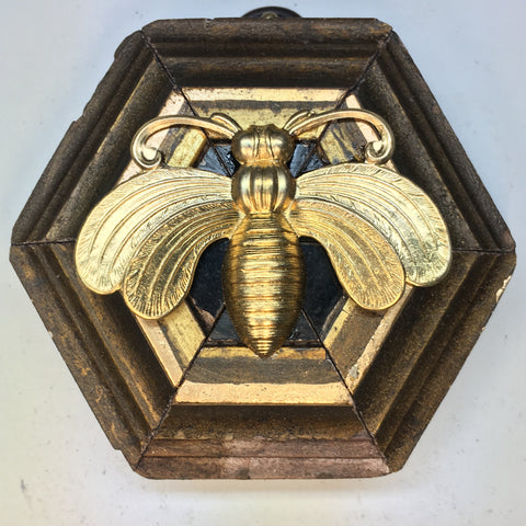 Gilt Frame with Bee (3