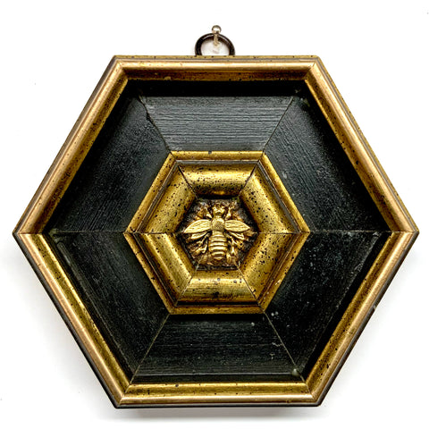 Lacquered Frame with Napoleonic Bee (5.25