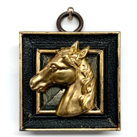 Lacquered Frame with Horse (2