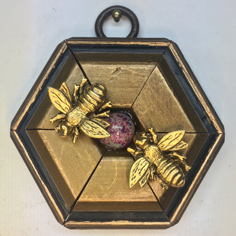 Gilt Frame with Napoleonic Bees (2.75