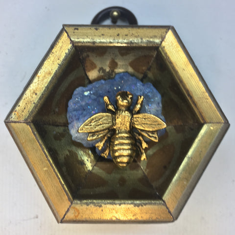 Gilt Frame with Napoleonic Bee on Stone (2.25
