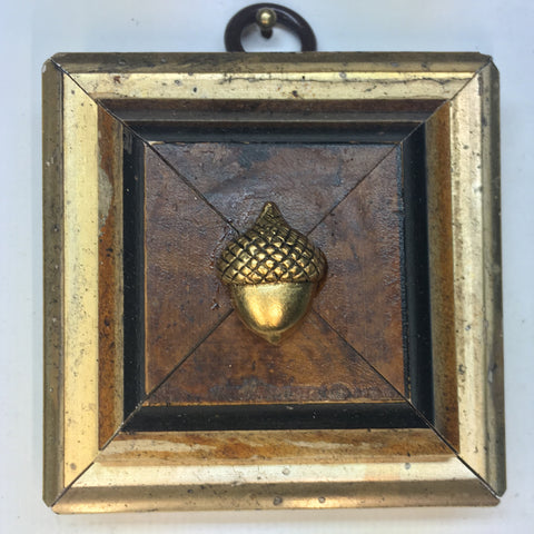 Burled Frame with Acorn (2.5